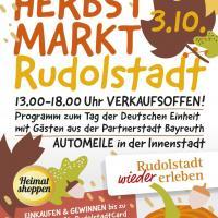 Der Stadtring Rudolstadt e.V. feiert traditionellen Herbstmarkt