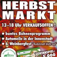 Verkaufsoffener Feiertag + Herbstmarkt am 3. Oktober